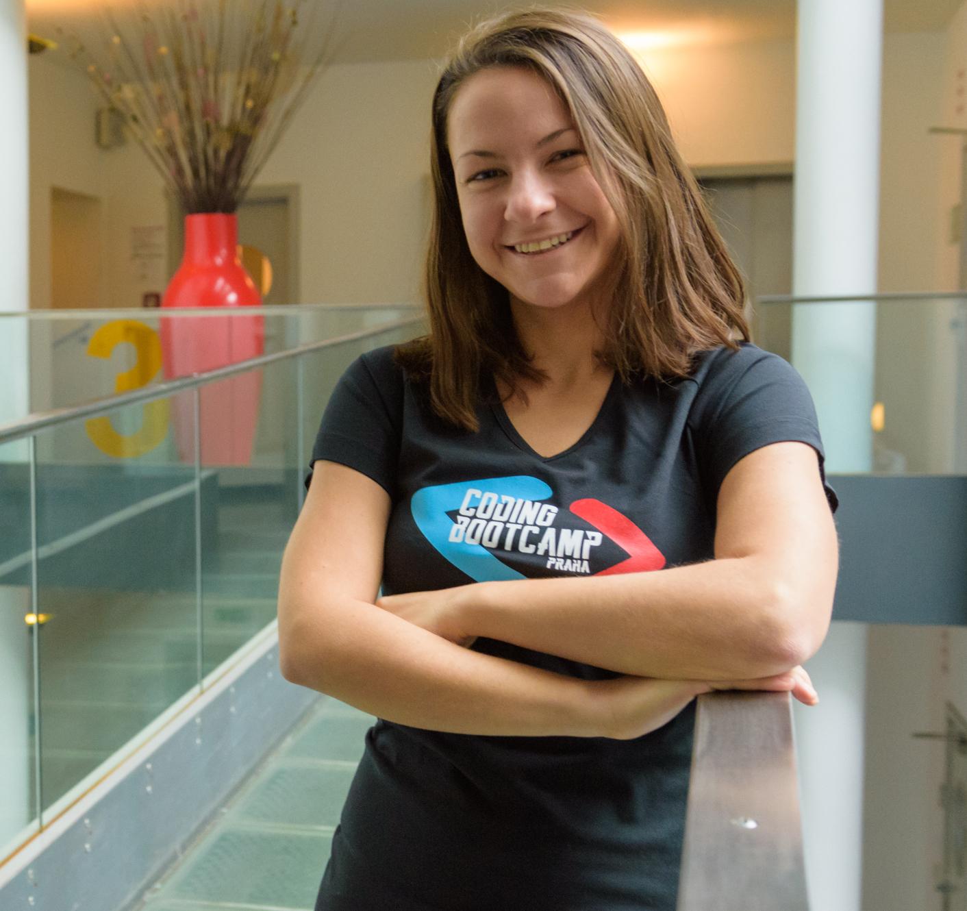 Coding Bootcamp Praha Students Daniela Zelinková