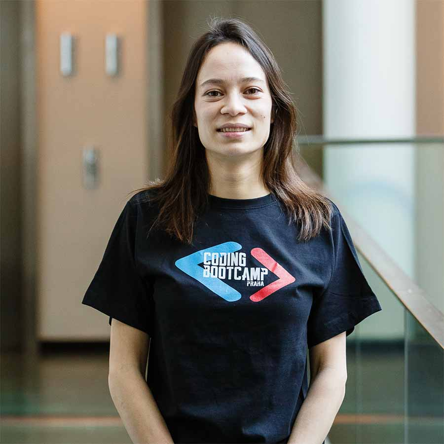 Coding Bootcamp Praha Students Mireille Bobbert