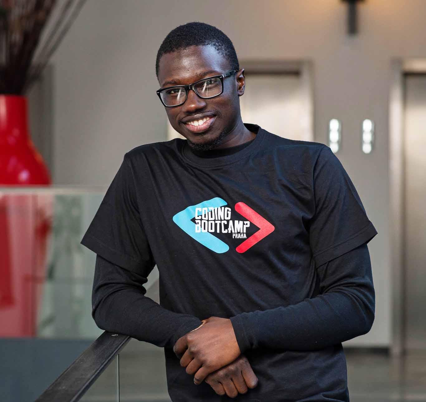 Coding Bootcamp Praha Students Mohamed Touré