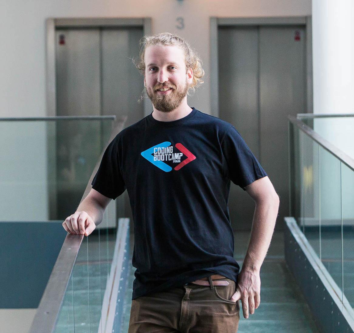 Coding Bootcamp Praha Students Sean Hochman